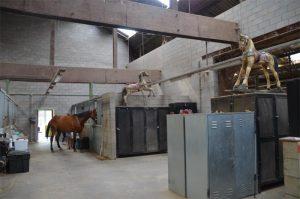 Les installations et infrastructures des Écuries de l'Abbaye